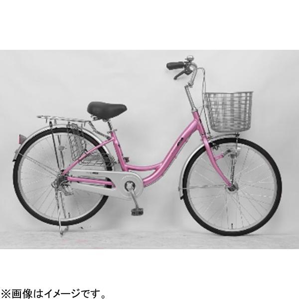【送料無料】 サイモト自転車 24型 自転車 アネモネライト(ピンク/シングルシフト) FL-W240RAL-HD-BAA【組立商品につき返品不可】 【代金引換配送不可】【メーカー直送・代金引換不可・時間指定・返品不可】