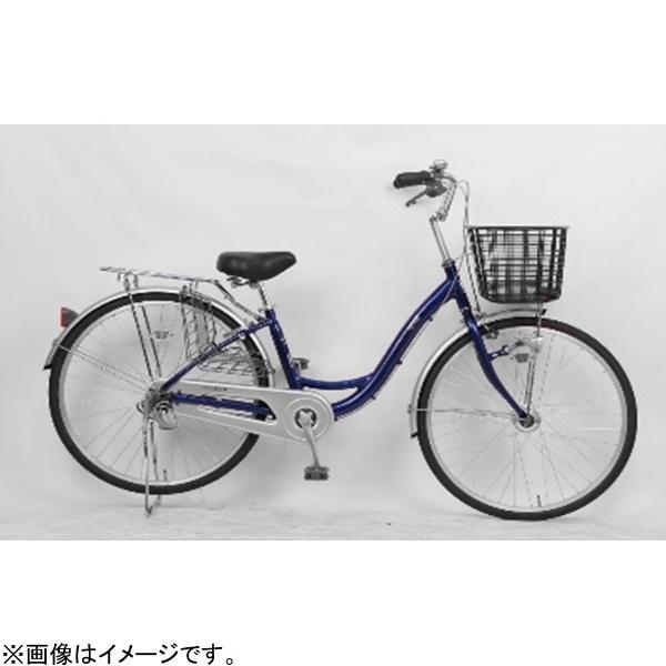 【送料無料】 サイモト自転車 26型 自転車 アネモネライト(ネイビー/シングルシフト) FL-W260RAL-HD-BAA【組立商品につき返品不可】 【代金引換配送不可】【メーカー直送・代金引換不可・時間指定・返品不可】