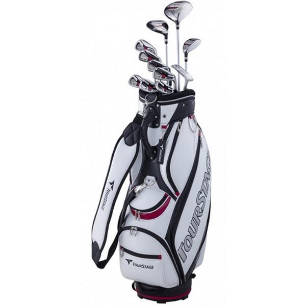 【送料無料】 ブリヂストン メンズ ゴルフクラブ TOUR STAGE V002 11本セット《キャディバッグ付》R