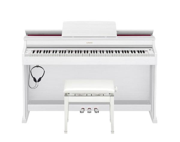 【標準設置費込み】 カシオ AP-470WE 電子ピアノ CELVIANO(セルヴィア―ノ) ホワイトウッド調 [88鍵盤]