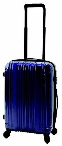 【送料無料】 BERMAS 軽量 TSAロック搭載スーツケース CONNECT(34L) 60280 ネイビー 【メーカー直送・代金引換不可・時間指定・返品不可】
