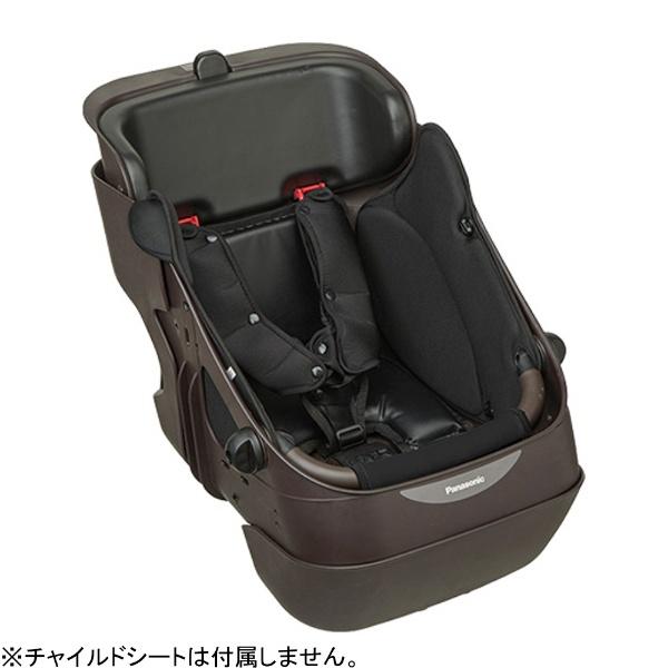 【送料無料】 パナソニック Panasonic プレミアムフロントチャイルドシート用 シートクッションセット(ブラック) NCB293S