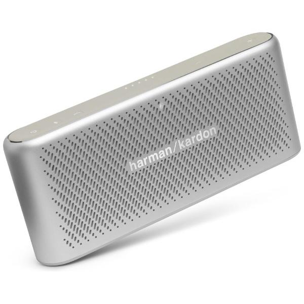 【送料無料】 Harman Kardon ブルートゥーススピーカー HKTRAVELERSIL シルバー [Bluetooth対応]