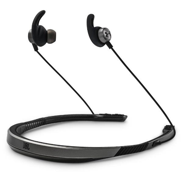 【送料無料】 JBL ブルートゥースイヤホン カナル型 UAJBLNBGRY グレー [防滴&ネックバンド /Bluetooth]
