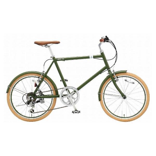 【送料無料】 アサヒサイクル 20型 クロスバイク シークレットコード206(マットグリーン/460サイズ《適応身長:約150cm以上》) SCF206 【代金引換配送不可】【メーカー直送・代金引換不可・時間指定・返品不可】