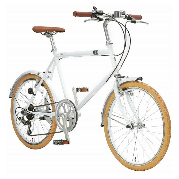 【送料無料】 アサヒサイクル 20型 クロスバイク シークレットコード206(ホワイト/460サイズ《適応身長:約150cm以上》) SCF206 【代金引換配送不可】【メーカー直送・代金引換不可・時間指定・返品不可】