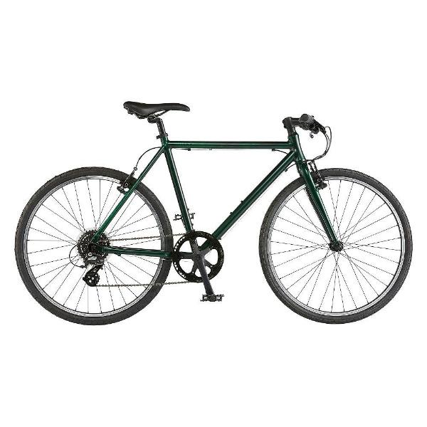 【送料無料】 ライトウェイ 700×38C型 クロスバイク シェファード(マットダークオリーブ/570サイズ《適応身長:170cm以上》) 【代金引換配送不可】