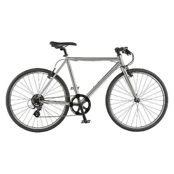 【送料無料】 ライトウェイ 26型 クロスバイク シェファード(マットグレーシルバー/510サイズ《適応身長:160cm以上》) 【代金引換配送不可】