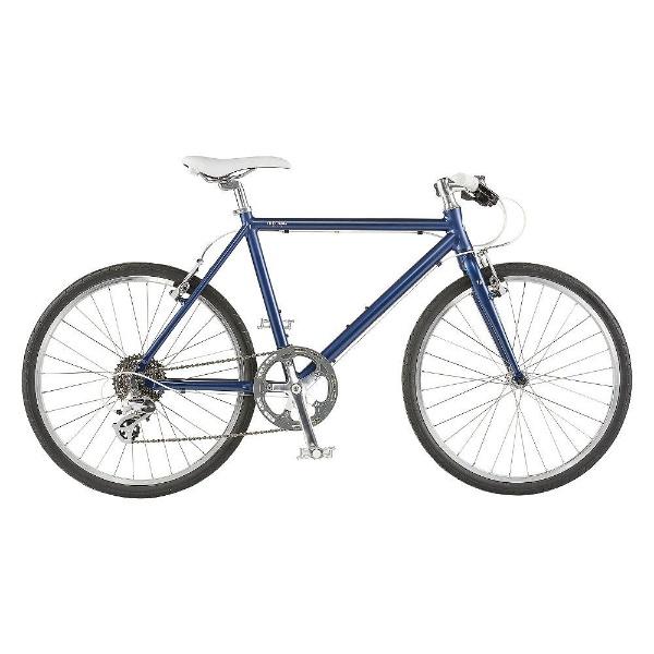 【送料無料】 ライトウェイ 26型 クロスバイク シェファード(マットネイビー/510サイズ《適応身長:160cm以上》) 【代金引換配送不可】