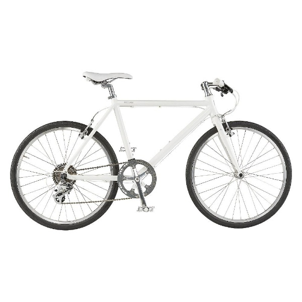 【送料無料】 ライトウェイ 26型 クロスバイク シェファード(マットホワイト/510サイズ《適応身長:160cm以上》) 【代金引換配送不可】