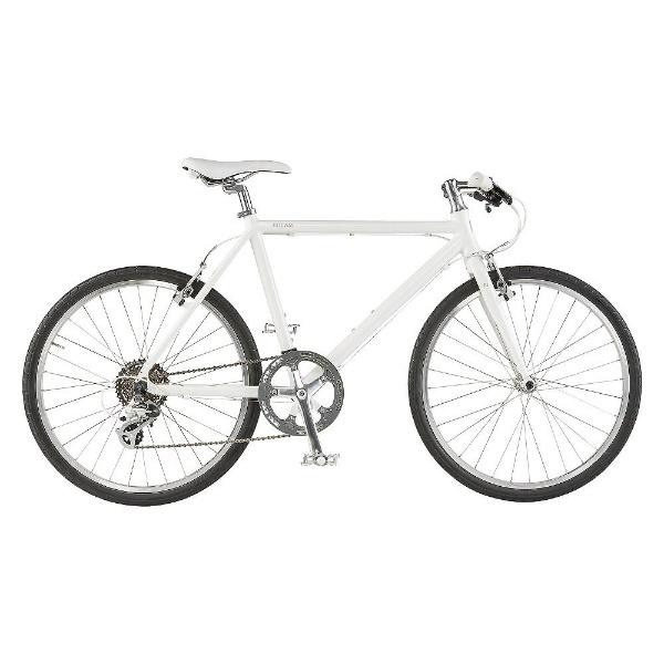 【送料無料】 ライトウェイ 700×38C型 クロスバイク シェファード(マットホワイト/570サイズ《適応身長:170cm以上》) 【代金引換配送不可】