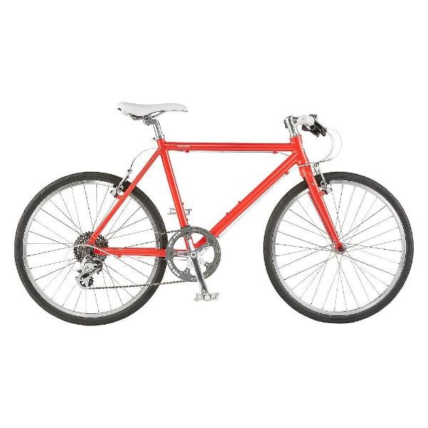 【送料無料】 ライトウェイ 24型 クロスバイク シェファード(マットレッド/460サイズ《適応身長:150cm以上》) 【代金引換配送不可】