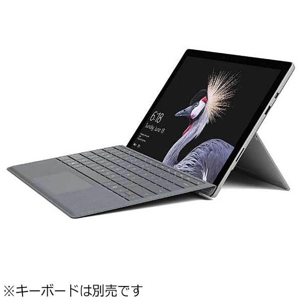 【送料無料】 マイクロソフト Microsoft キーボード別売「Surface Pro(Core m3/128GB/4GB/ペン非同梱モデル)」 Windowsタブレット[Office付き・12.3型] 2018年モデル FJR-00016 シルバー