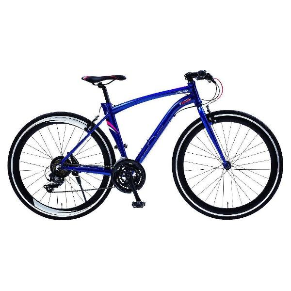 【送料無料】 マセラティ 700×25C型 クロスバイク マセラティ AL-CRB7021(ブルー/480サイズ《適応身長:160cm以上》) 68104-03【組立商品につき返品不可】 【代金引換配送不可】
