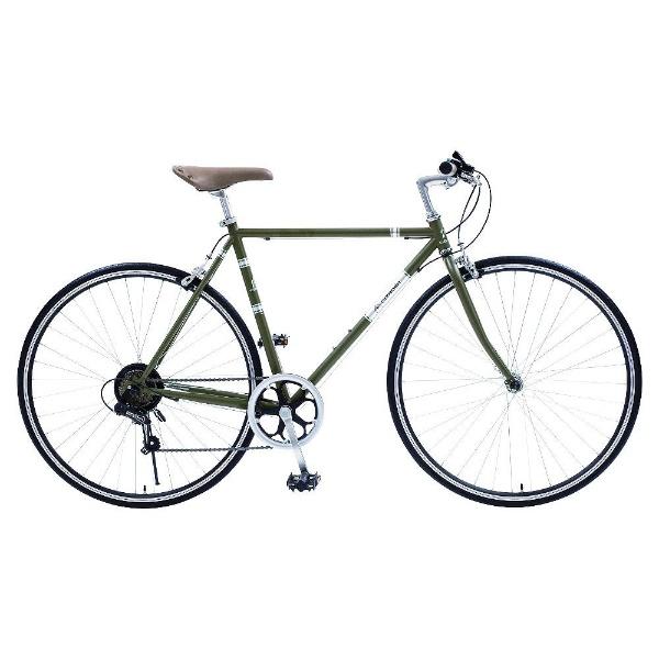 【送料無料】 シトロエン 700×25C型 クロスバイク シトロエン TR7006(グリーン/530サイズ《適応身長:160cm以上》) 65104-11【組立商品につき返品不可】 【代金引換配送不可】