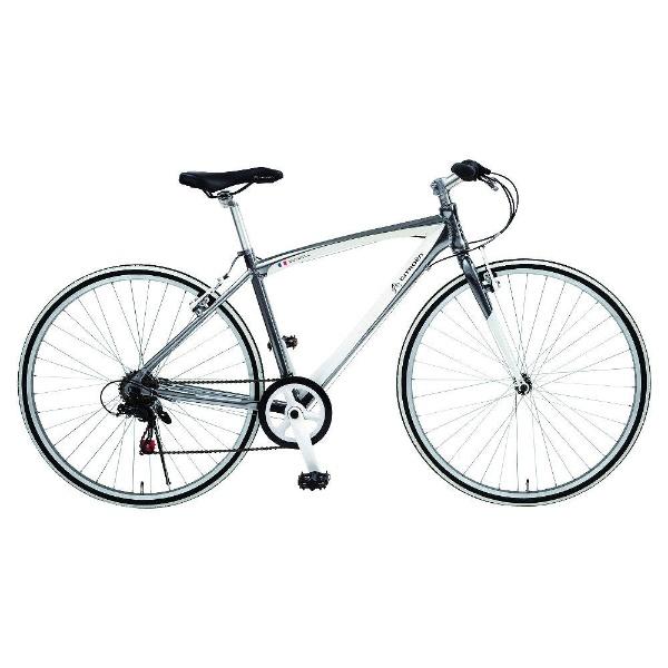 【送料無料】 シトロエン 700×28C型 クロスバイク シトロエン AL-CRB7006NX(シルバー/480サイズ《適応身長:160cm以上》) 65105-09【組立商品につき返品不可】 【代金引換配送不可】