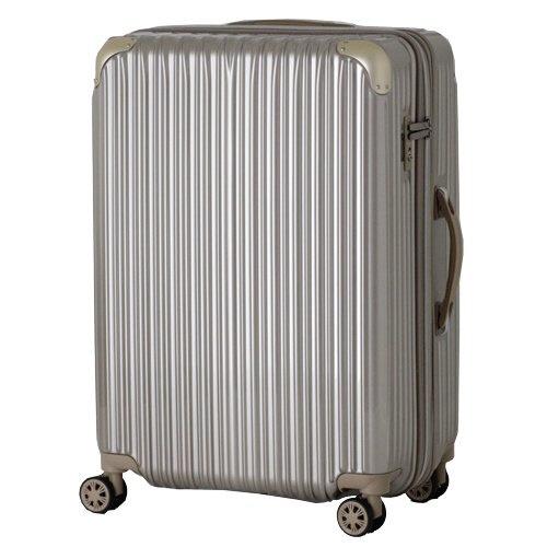 【送料無料】 シフレ TSAロック搭載スーツケース(35-40L)TRI2035-49 ゴールド 【メーカー直送・代金引換不可・時間指定・返品不可】