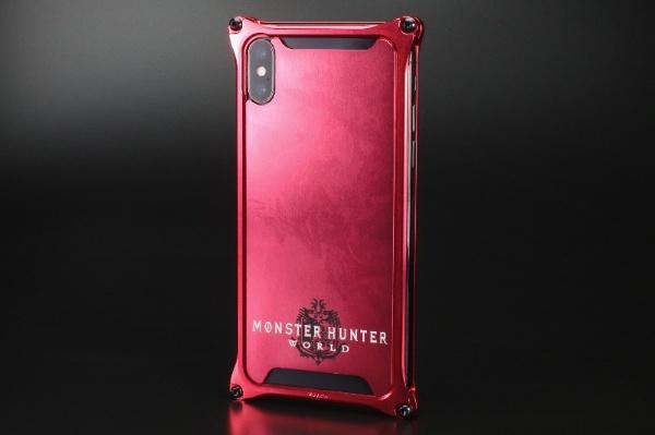 【送料無料】 ギルドデザイン モンスターハンターワールドソリッドバンパーforiPhoneX/レッド/リオレウス GI-MON-6 GI-MON-6