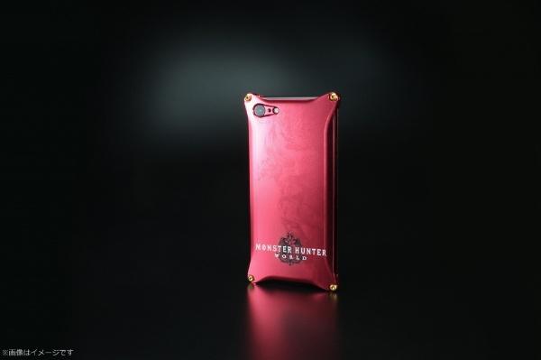 【送料無料】 ギルドデザイン モンスターハンターワールドソリッドforiPhone8/7/レッド/ネルギガンテ GI-MON-10 GI-MON-10