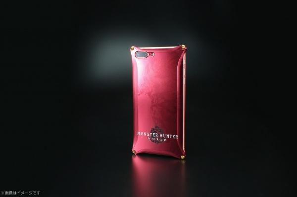 【送料無料】 ギルドデザイン モンスターハンターワールドソリッドforiPhone8Plus/iPhone7Plus/レッド/ネルギガンテ GI-MON-12 GI-MON-12