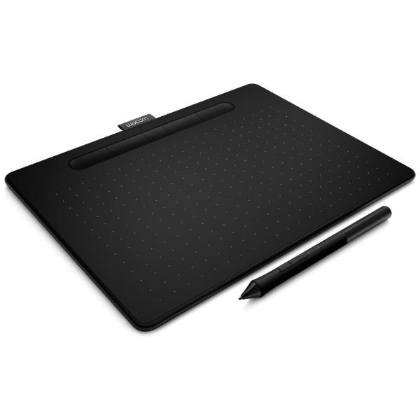 【送料無料】 WACOM ワコム ペンタブレット Intuos Medium ワイヤレス CTL-6100WL/K0 ブラック