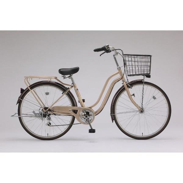 【送料無料】 サイモト自転車 26型 自転車 レベッツア266HD(シャンパン/外装6段変速) FS-W266R-HD-BAA【組立商品につき返品不可】 【代金引換配送不可】【メーカー直送・代金引換不可・時間指定・返品不可】