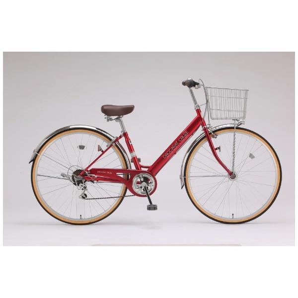 【送料無料】 サイモト自転車 27型 自転車 ダカラットクルーズ276HD(レッド/外装6段変速) CV-W276R-HD-BAA【組立商品につき返品不可】 【代金引換配送不可】【メーカー直送・代金引換不可・時間指定・返品不可】