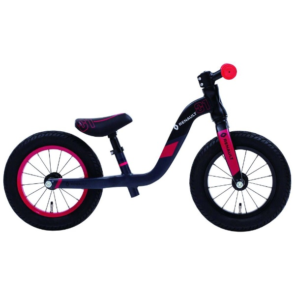 【送料無料】 ルノー 12型 ランニングバイク ルノー ウルトラライトトレーニー(ブラック/シングルシフト) 11381-01【組立商品につき返品不可】 【代金引換配送不可】