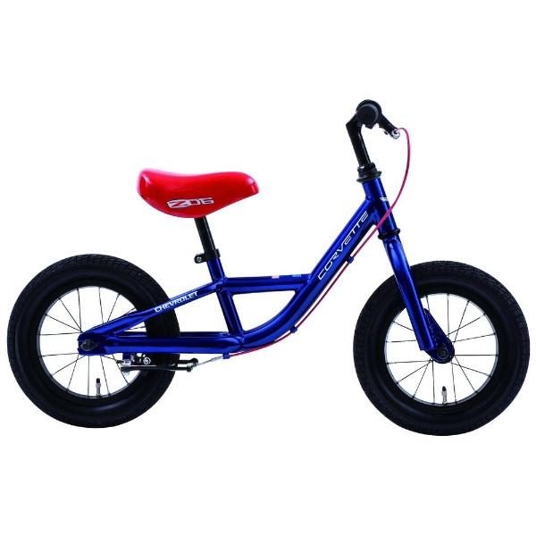 【送料無料】 コルベット 12型 ランニングバイク コルベット TRAINEE BIKE12(ブルー/シングルシフト) 84005-03【組立商品につき返品不可】 【代金引換配送不可】