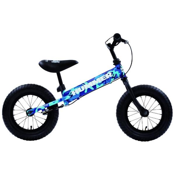 【送料無料】 ハマー 12型 ランニングバイク ハマー TRAINEE BIKE(ブルーカモフラージュ/シングルシフト) 13028-03【組立商品につき返品不可】 【代金引換配送不可】