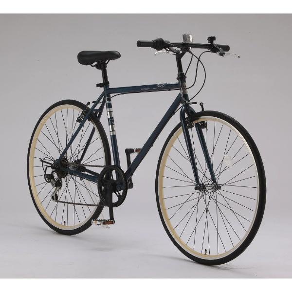 【送料無料】 サイモト自転車 700×28C型 クロスバイク Wanp Cross(ネイビー/510サイズ《適応身長:160cm以上》)CRーB7006V-510【組立商品につき返品不可】 【代金引換配送不可】【メーカー直送・代金引換不可・時間指定・返品不可】