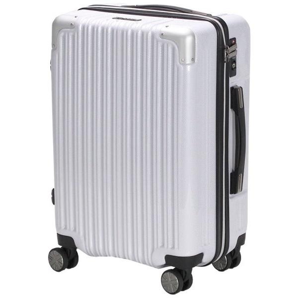 【送料無料】 シフレ TSAロック搭載スーツケース (35L)ハードジッパー MCL2072-49CAWH ホワイト 【メーカー直送・代金引換不可・時間指定・返品不可】