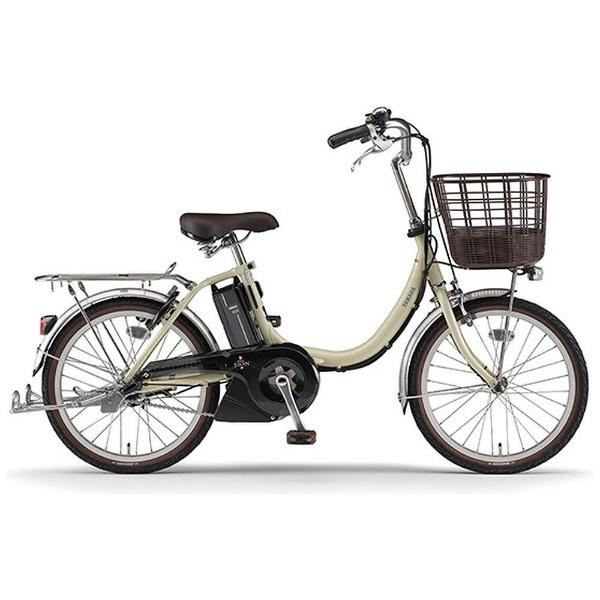【送料無料】 ヤマハ 20型 電動アシスト自転車 PAS SION-U(アイボリー/内装3段変速) PA20SU【2018年モデル】【組立商品につき返品不可】 【代金引換配送不可】【メーカー直送・代金引換不可・時間指定・返品不可】