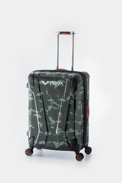 【送料無料】 A.L.I TSAロック搭載スーツケース ハードキャリー(112L) 59205 グリーンカモフラージュ 【メーカー直送・代金引換不可・時間指定・返品不可】