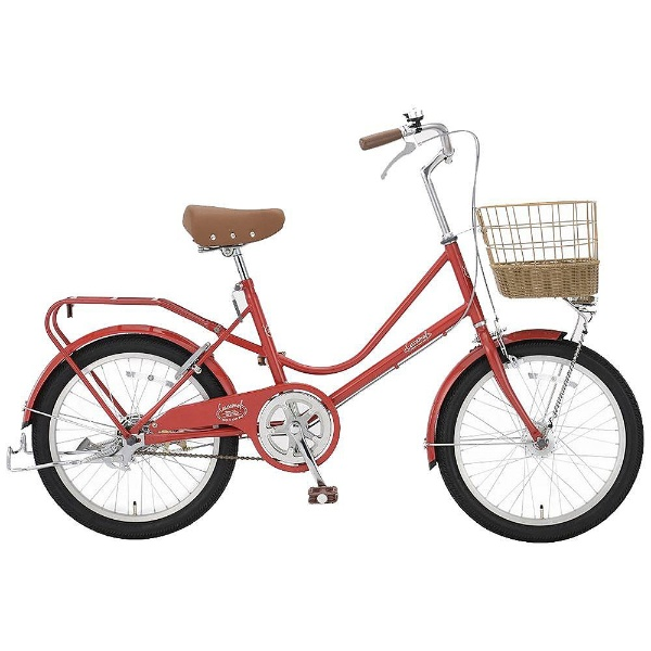 【送料無料】 アサヒサイクル 20型 自転車 キャラメル20S(FTレッド/シングルシフト) FEM20S【2018年モデル】【組立商品につき返品不可】 【代金引換配送不可】【メーカー直送・代金引換不可・時間指定・返品不可】