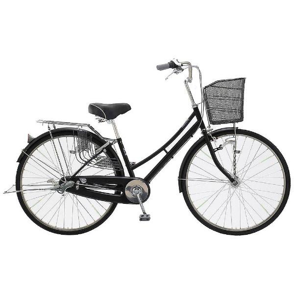 【送料無料】 アサヒサイクル 27型 自転車 プロテクティア27QUP(ツヤケシブラック/内装3段変速) TMU7Q【2018年モデル】【組立商品につき返品不可】 【代金引換配送不可】【メーカー直送・代金引換不可・時間指定・返品不可】