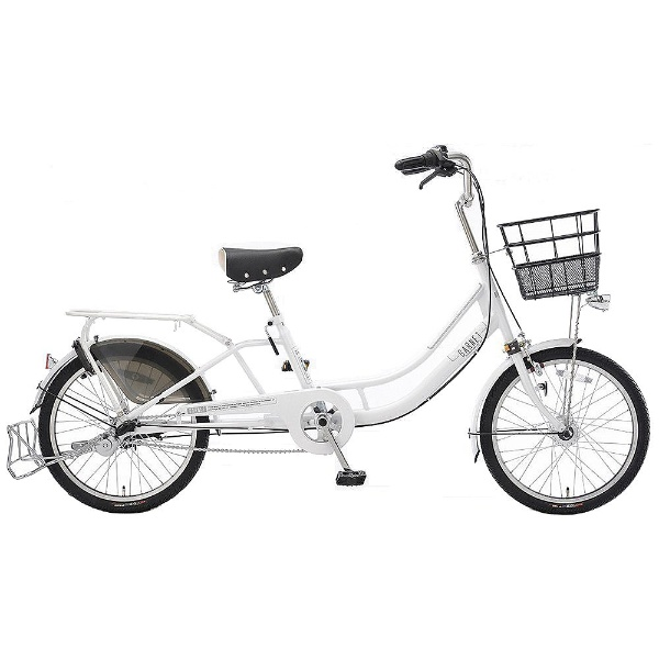 【送料無料】 アサヒサイクル 20型 自転車 ガーネット203(パールホワイト/内装3段変速) LCG203【2018年モデル】【組立商品につき返品不可】 【代金引換配送不可】【メーカー直送・代金引換不可・時間指定・返品不可】