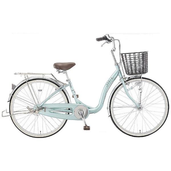 【送料無料】 アサヒサイクル 26型 自転車 アスミックス26S(GLグリーン/シングルシフト) TBLU6S【2018年モデル】【組立商品につき返品不可】 【代金引換配送不可】【メーカー直送・代金引換不可・時間指定・返品不可】