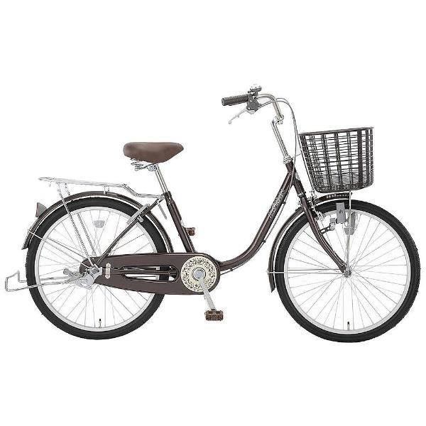 【送料無料】 アサヒサイクル 22型 自転車 リーセス23G(ダークブラウン/シングルシフト) TL3G【2018年モデル】【組立商品につき返品不可】 【代金引換配送不可】【メーカー直送・代金引換不可・時間指定・返品不可】