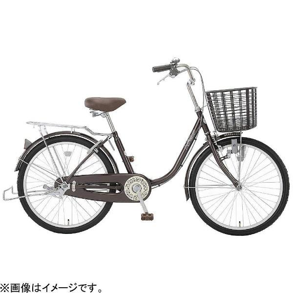 【送料無料】 アサヒサイクル 22型 自転車 リーセス23SG(ダークブラウン/シングルシフト) TL3SG【2018年モデル】【組立商品につき返品不可】 【代金引換配送不可】【メーカー直送・代金引換不可・時間指定・返品不可】