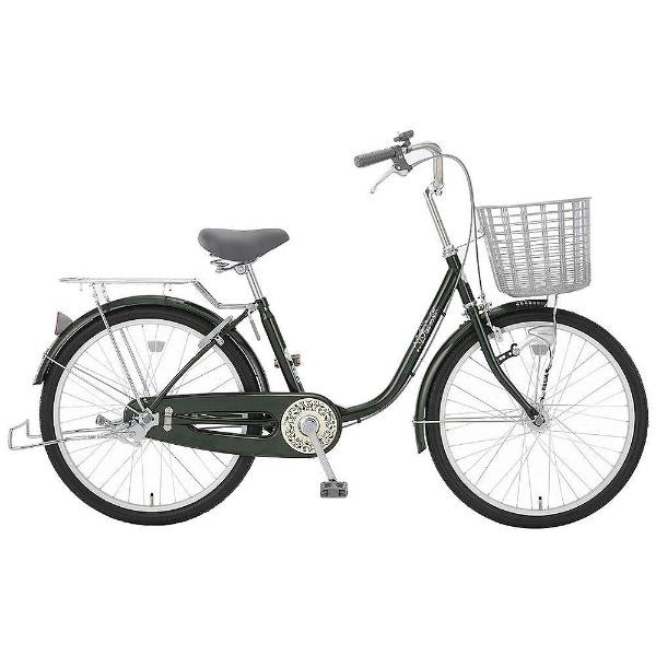 【送料無料】 アサヒサイクル 22型 自転車 リーセス23QG(ボトルグリーン/内装3段変速) TL3QG【2018年モデル】【組立商品につき返品不可】 【代金引換配送不可】【メーカー直送・代金引換不可・時間指定・返品不可】