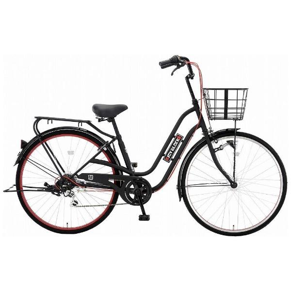 【送料無料】 アサヒサイクル 27型 自転車 ジョイブロック276S(ブラック/レッド/外装6段変速) FJC76S【2018年モデル】【組立商品につき返品不可】 【代金引換配送不可】【メーカー直送・代金引換不可・時間指定・返品不可】