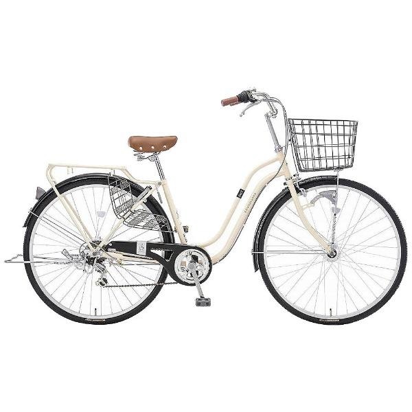 【送料無料】 アサヒサイクル 27型 自転車 スウェル276(ミルクホワイト/外装6段変速) T76JWB【2018年モデル】【組立商品につき返品不可】 【代金引換配送不可】【メーカー直送・代金引換不可・時間指定・返品不可】