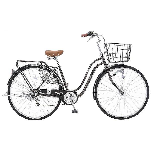 【送料無料】 アサヒサイクル 27型 自転車 スウェル276(ダークブラウン/外装6段変速) T76JWB【2018年モデル】【組立商品につき返品不可】 【代金引換配送不可】【メーカー直送・代金引換不可・時間指定・返品不可】
