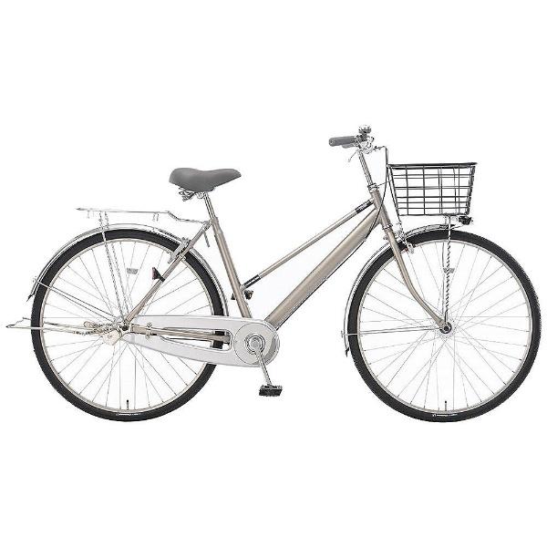 【送料無料】 アサヒサイクル 28型 自転車 ナイトアローグランデ28S(メタリックシルバー/シングルシフト) YRH8S【2018年モデル】【組立商品につき返品不可】 【代金引換配送不可】【メーカー直送・代金引換不可・時間指定・返品不可】