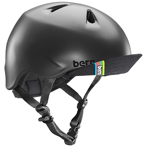 【送料無料】 BERN 子供用ヘルメット NINO ALL SEASON (Matte Black/ XS-Sサイズ:48~51.5cm) BE-VJBMBKV-11