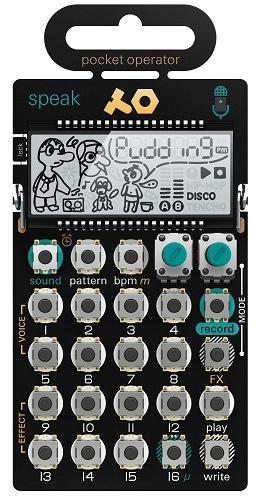 【送料無料】 Teenage Engineering ポケットオペレーター PO-35 speak! TE010AS035 TE010AS035