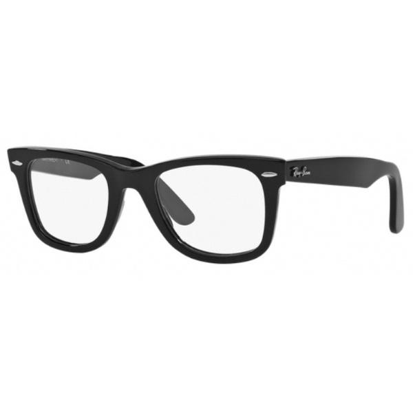 【送料無料】 レイバン RayBan 【度付き】RayBan メガネセット WAYFARER(シャイニーブラック)RX5121F 2000 50mm[超薄型/屈折率1.67/非球面]