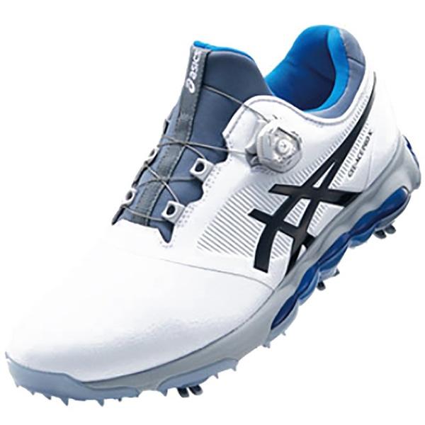 【送料無料】 アシックス メンズ ゴルフシューズ GEL-ACE PRO X Boa(26.5cm/ホワイト×ファントム/3E) TGN922