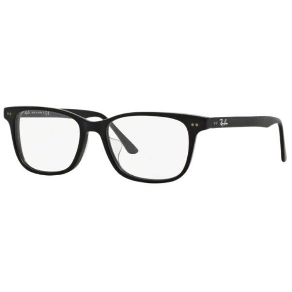 【送料無料】 レイバン RayBan 【度付き】RayBan メガネセット(マットブラック)RX5306D 2477 53mm[薄型/屈折率1.60/非球面/PCレンズ]